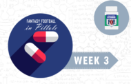 Fantasy Football: Week 3 in Pillole
