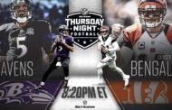[NFL] Week 2: Qualche informazione su Baltimore Ravens vs Cincinnati Bengals