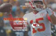 [NFL] Il meglio a livello statistico di week 2