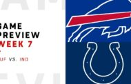 [NFL] Week 7: Preview Indianapolis Colts vs Buffalo Bills