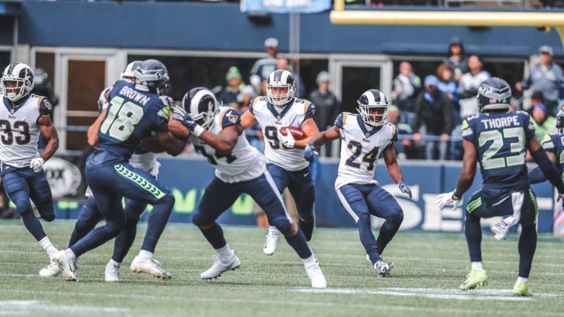 Matt Longacre Rams Seahawks