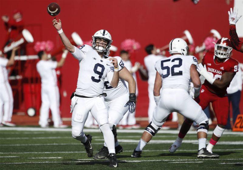 Penn State Indiana week 8