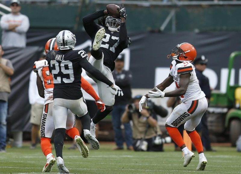 Reggie Nelson Raiders BRowns