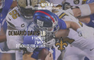 [NFL] Il meglio a livello statistico di week 4