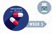 Fantasy Football: Week 5 in Pillole