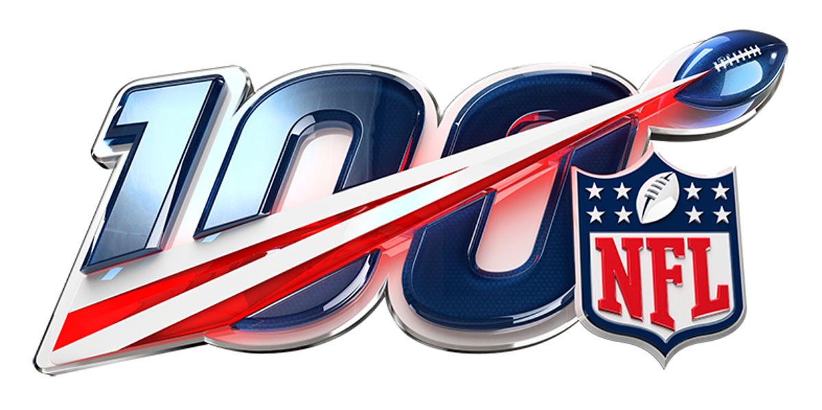 I festeggiamenti per i 100 anni della NFL