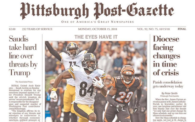 [NFL] Le prime pagine dei giornali di week 6