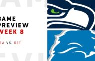 [NFL] Week 8: Preview Detroit Lions vs Seattle Seahawks