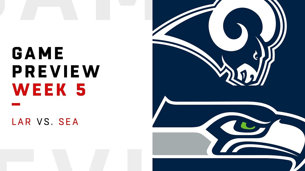 [NFL] Week 5: Preview Seattle Seahawks vs Los Angeles Rams