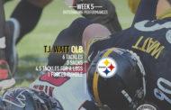 [NFL] Il meglio a livello statistico di week 5