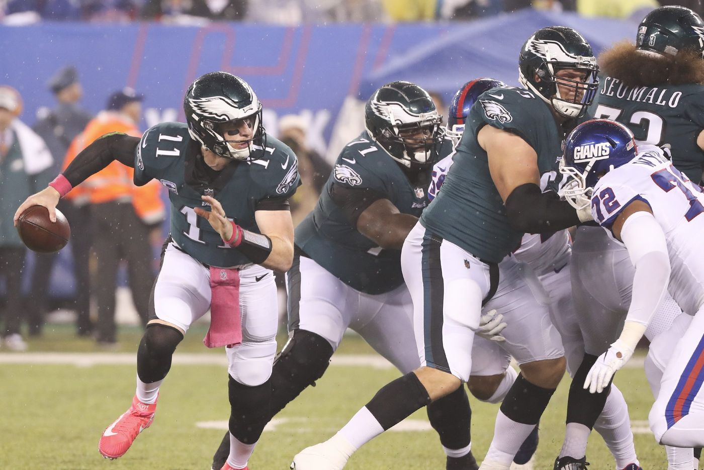 [NFL] Week 6: Carson al comando (Philadelphia Eagles vs New York Giants 34-13)