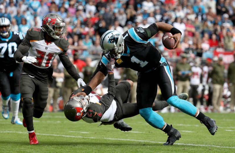 Cam Newton Panthers Buccaneers