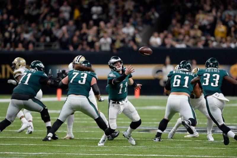 Carson Wentz Eagles Saints