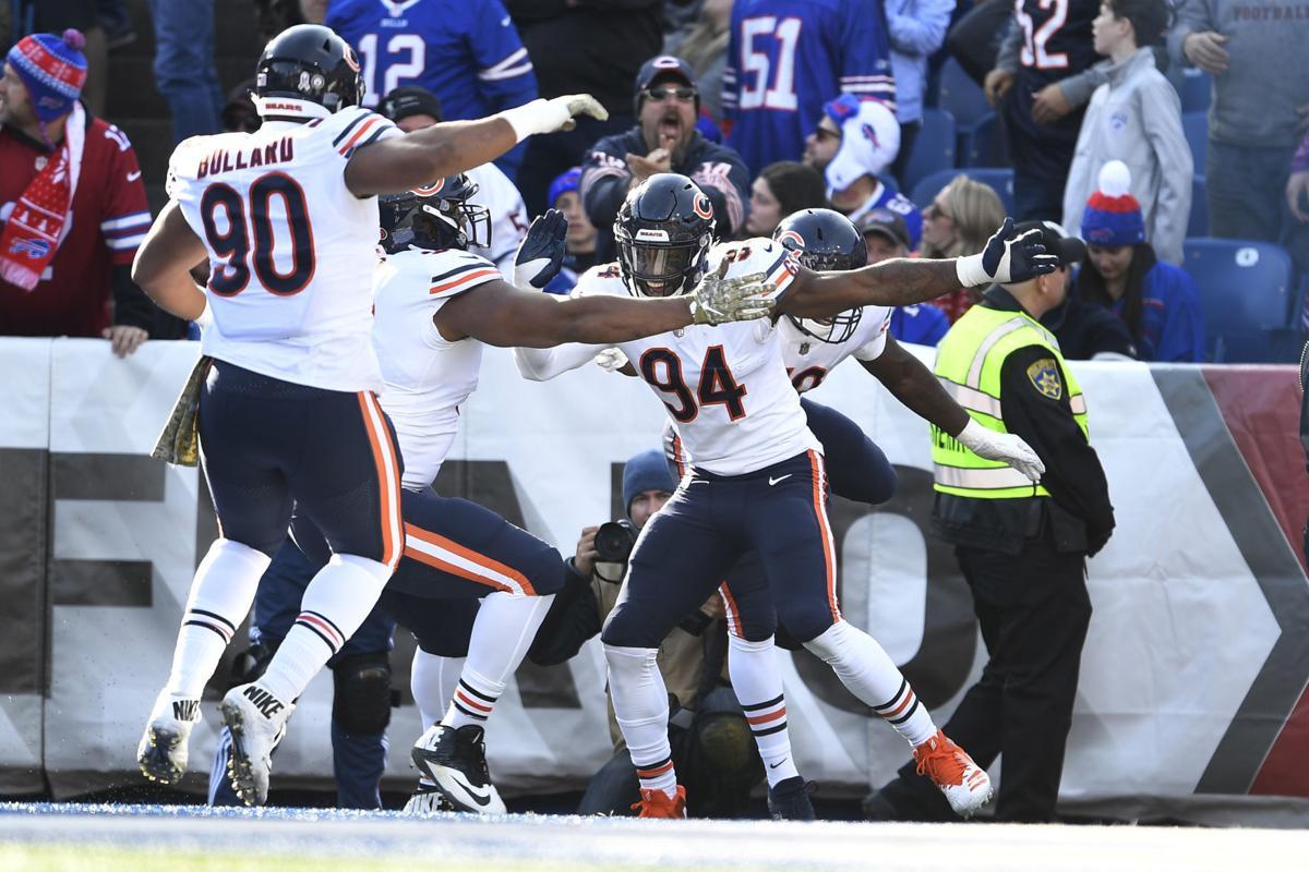 [NFL] Week 9: Keep Rollin' (Chicago Bears vs Buffalo Bills 41-9)