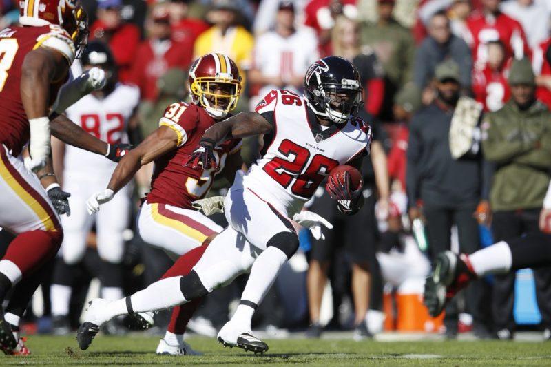 Coleman Falcons Redskins