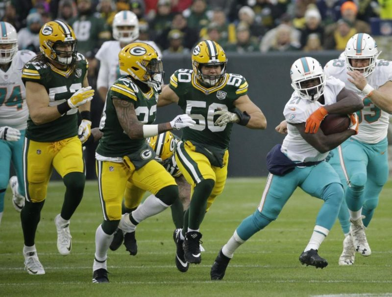 Gore Dolphins Packers