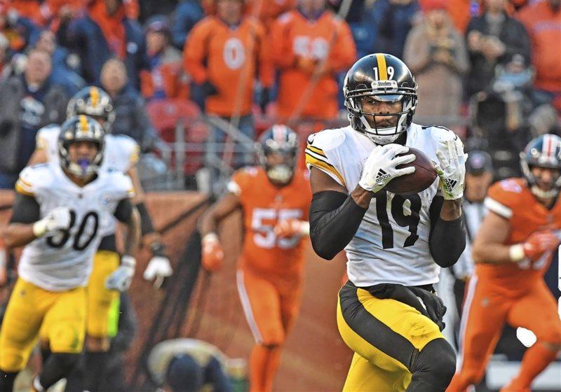 JuJu Smith-Schuster Steelers Broncos