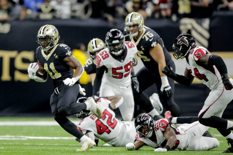 Kamara Saints Falcons
