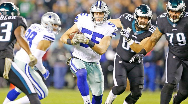 Leighton Vander Esch Cowboys Eagles