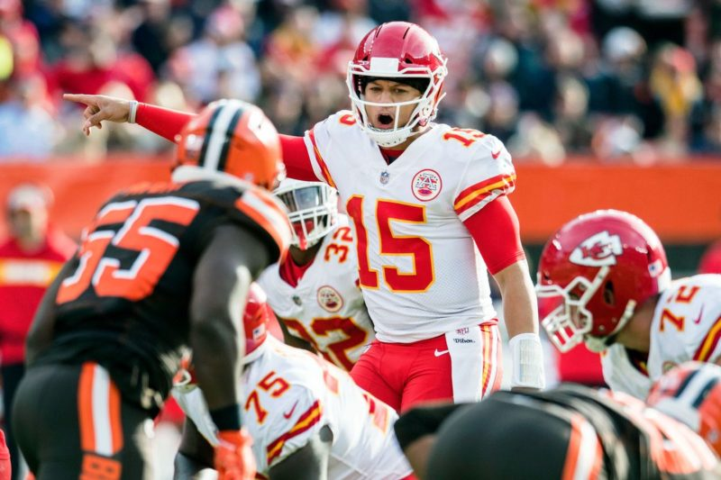 Mahomes Chiefs Browns