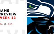 [NFL] Week 12: Preview Carolina Panthers vs Seattle Seahawks