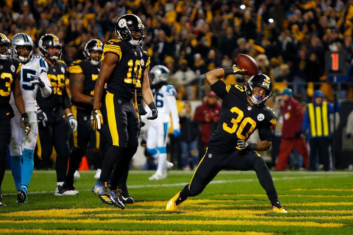 [NFL] Week 10: Rolling Steel (Carolina Panthers vs Pittsburgh Steelers 21-52)