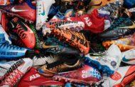 Le scarpe dei giocatori per una buona azione