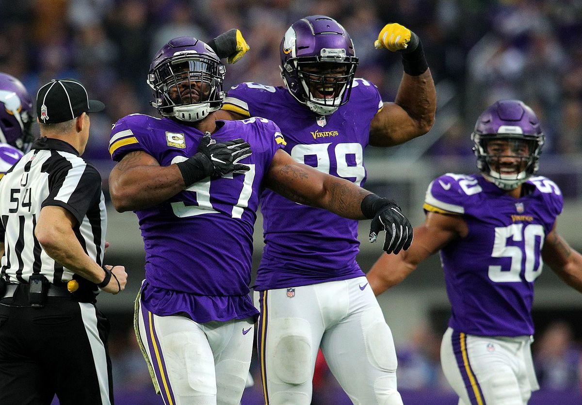 [NFL] Week 9: Sack party (Detroit Lions vs Minnesota Vikings 9-24)