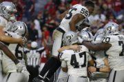 [NFL] Week 11: Guerra tra poveri (Oakland Raiders vs Arizona Cardinals 23-21)