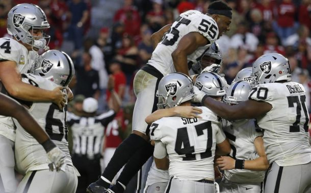 [NFL] Week 11: Guerra tra poveri (Oakland Raiders vs Arizona Cardinals 23-21)