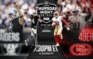 [NFL] Week 9: Qualche informazione su Oakland Raiders vs San Francisco 49ers