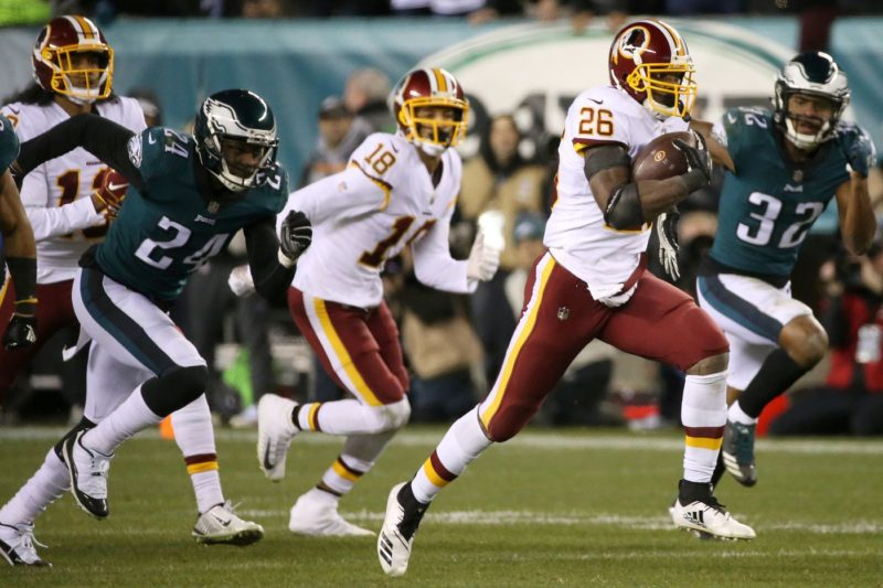 Adrian Peterson Redskins Eagles
