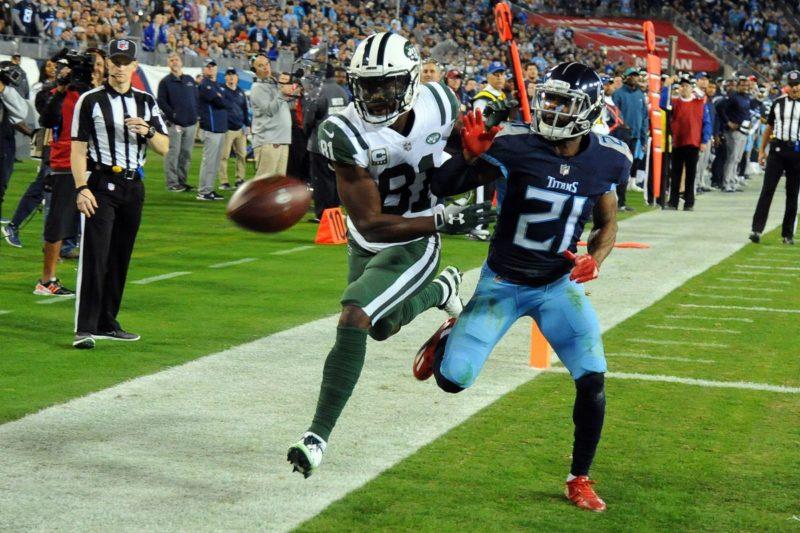 Quincy Enunwa Jets Titans