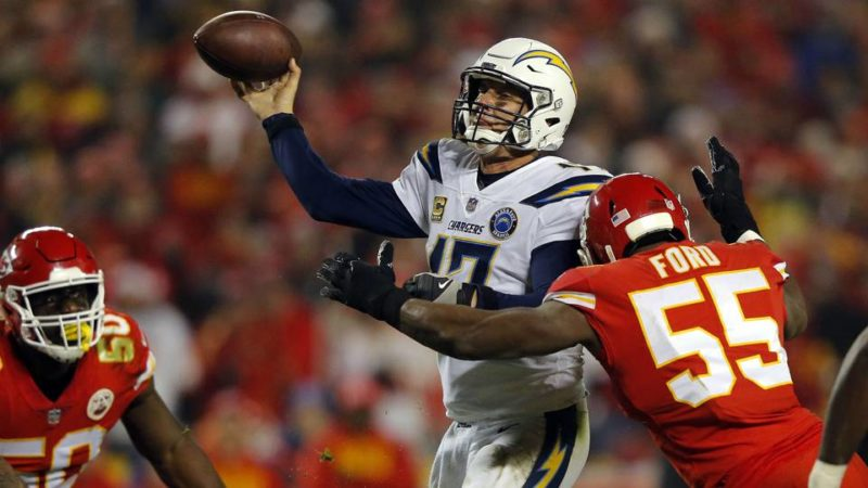 Rivers Chargers Chiefs