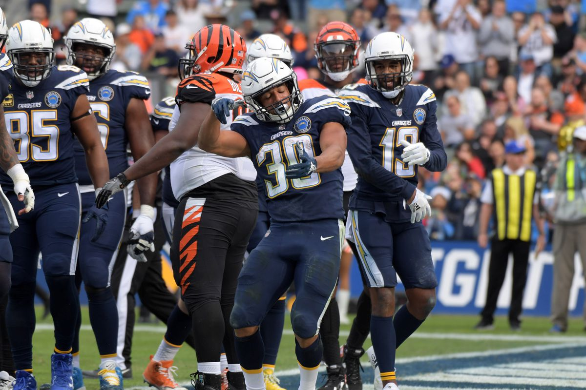 [NFL] Week 14: Guerra a colpi di running back (Cincinnati Bengals vs Los Angeles Chargers 21-26)