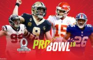 I convocati per il Pro Bowl 2019 e qualche curiosità