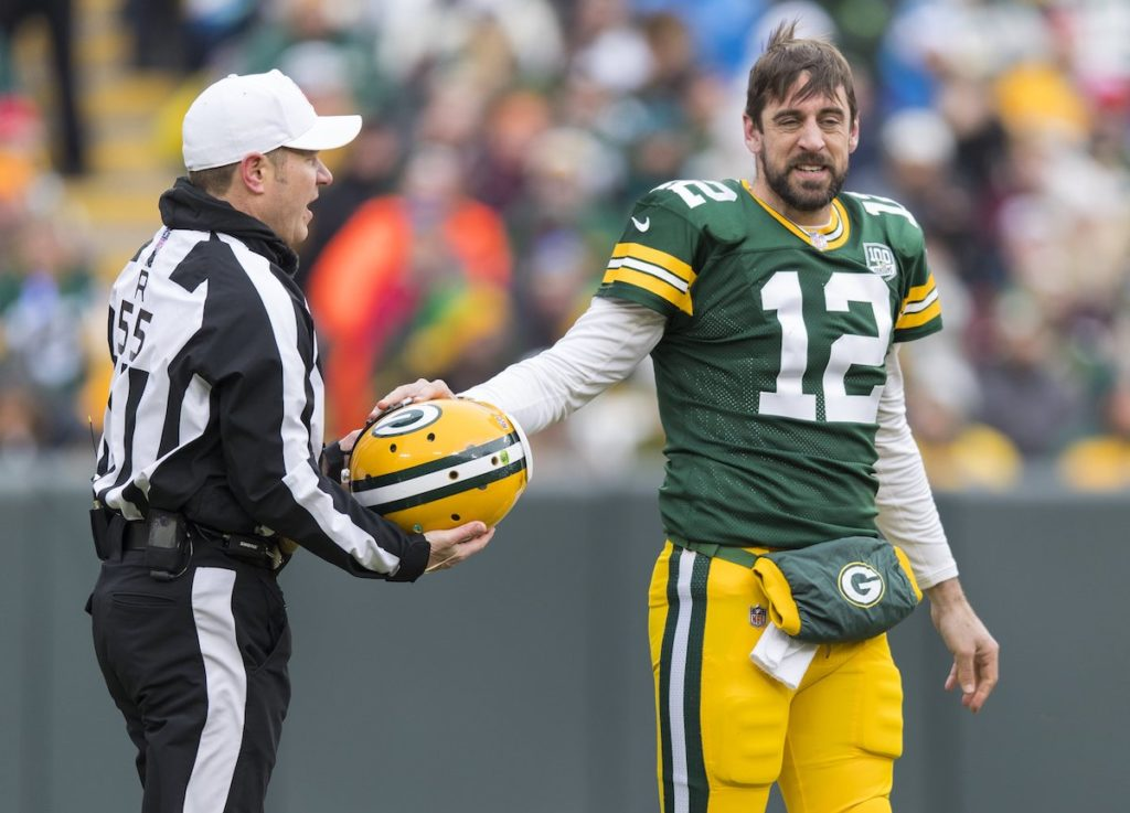 rodgers packers lions