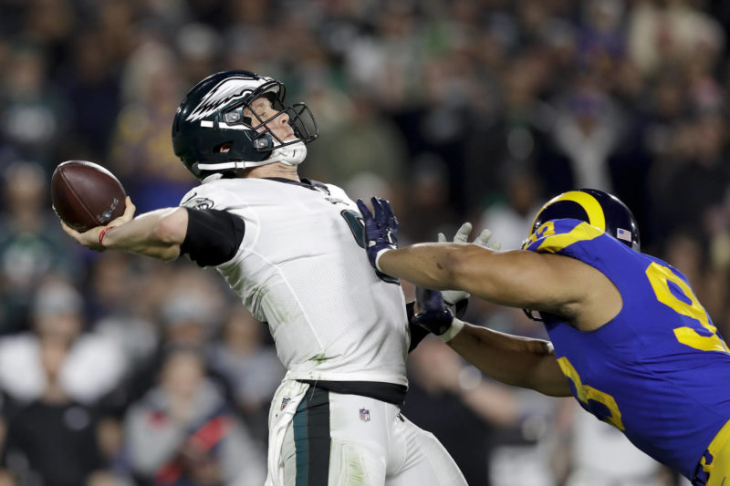 Foles Eagles Rams Football