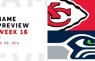[NFL] Week 16: Preview Seattle Seahawks vs Kansas City Chiefs