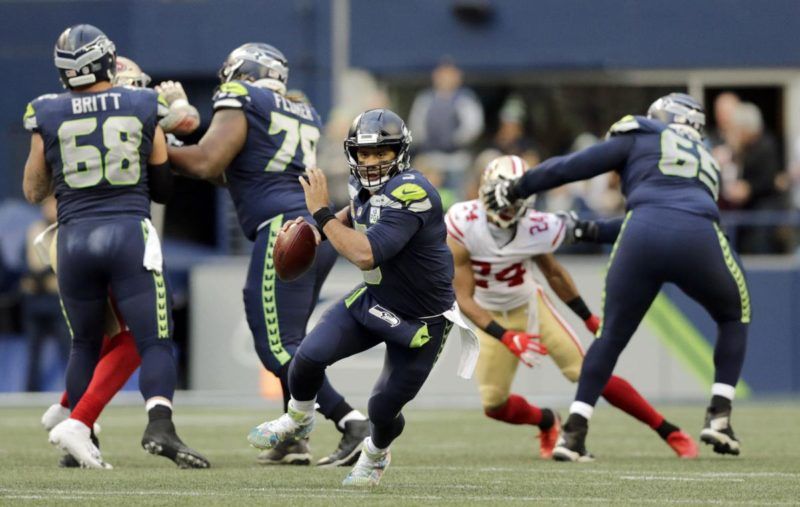 wilson seattle seahawks 49ers