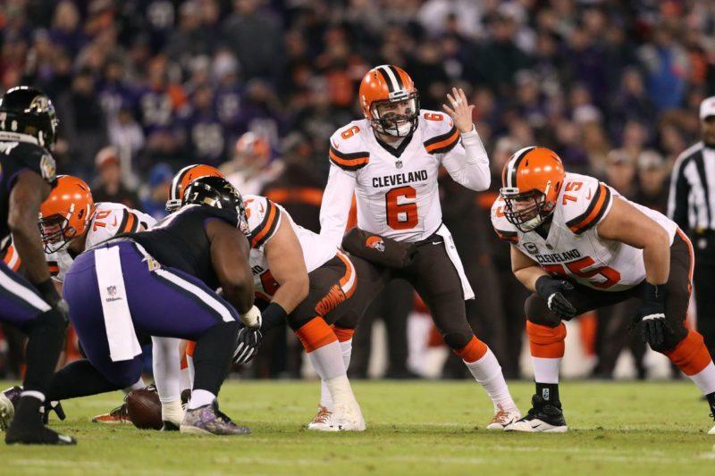 mayfield Cleveland Browns v Baltimore Ravens