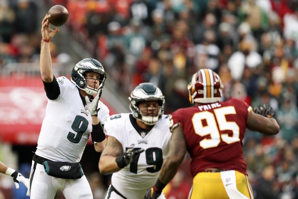 Foles Eagles Redskins