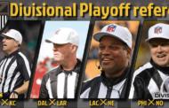 [NFL] Divisional: le crew arbitrali del weekend