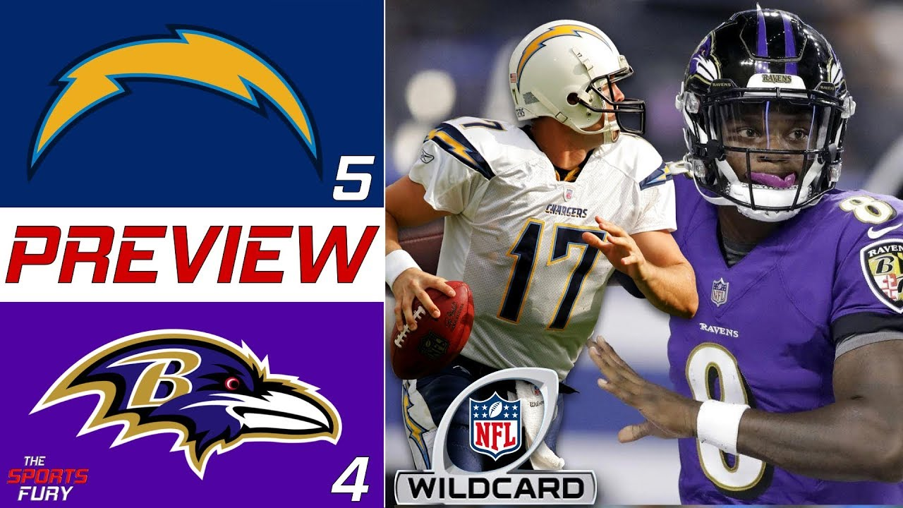 [NFL] Wild Card: Preview Baltimore Ravens vs Los Angeles Chargers