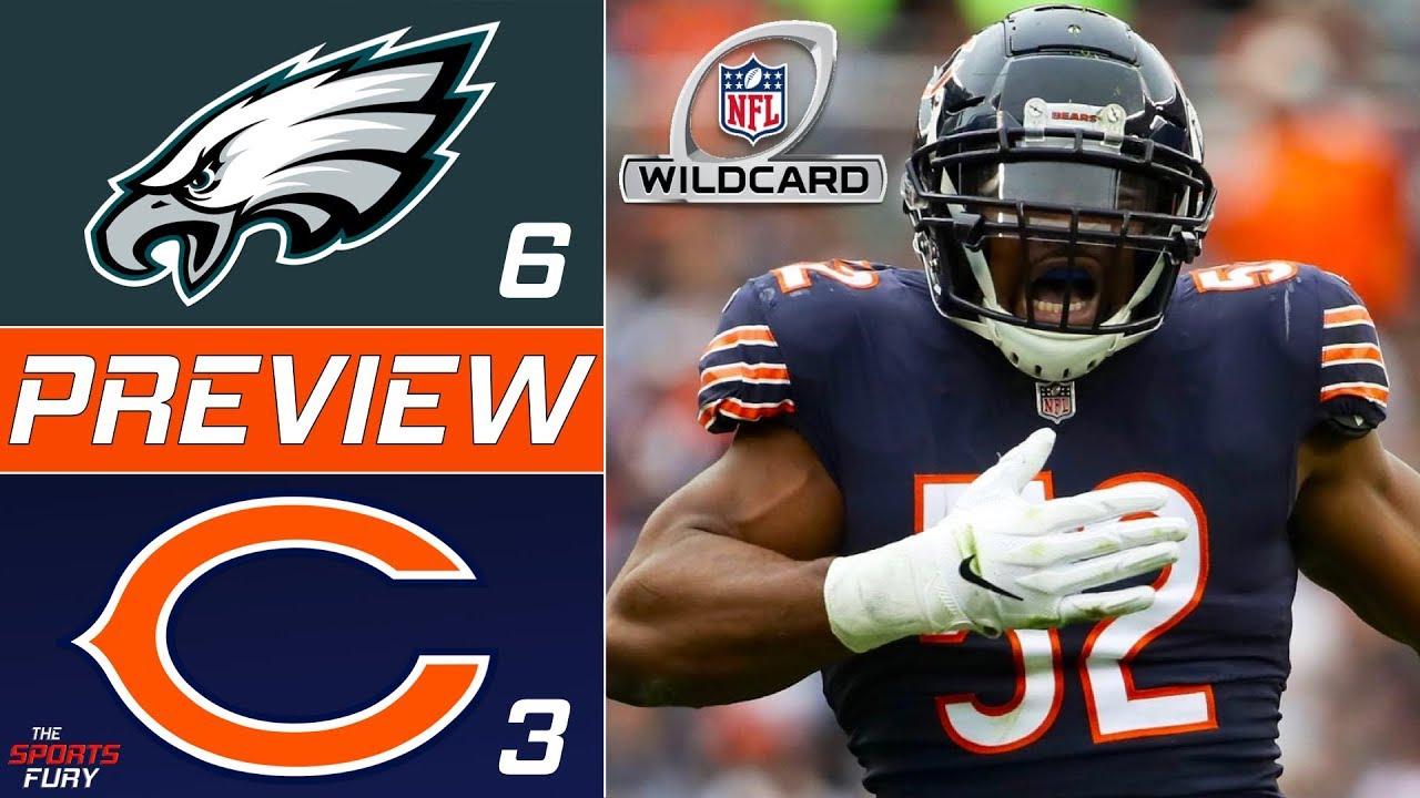 [NFL] Wild Card: Preview Chicago Bears vs Philadelphia Eagles