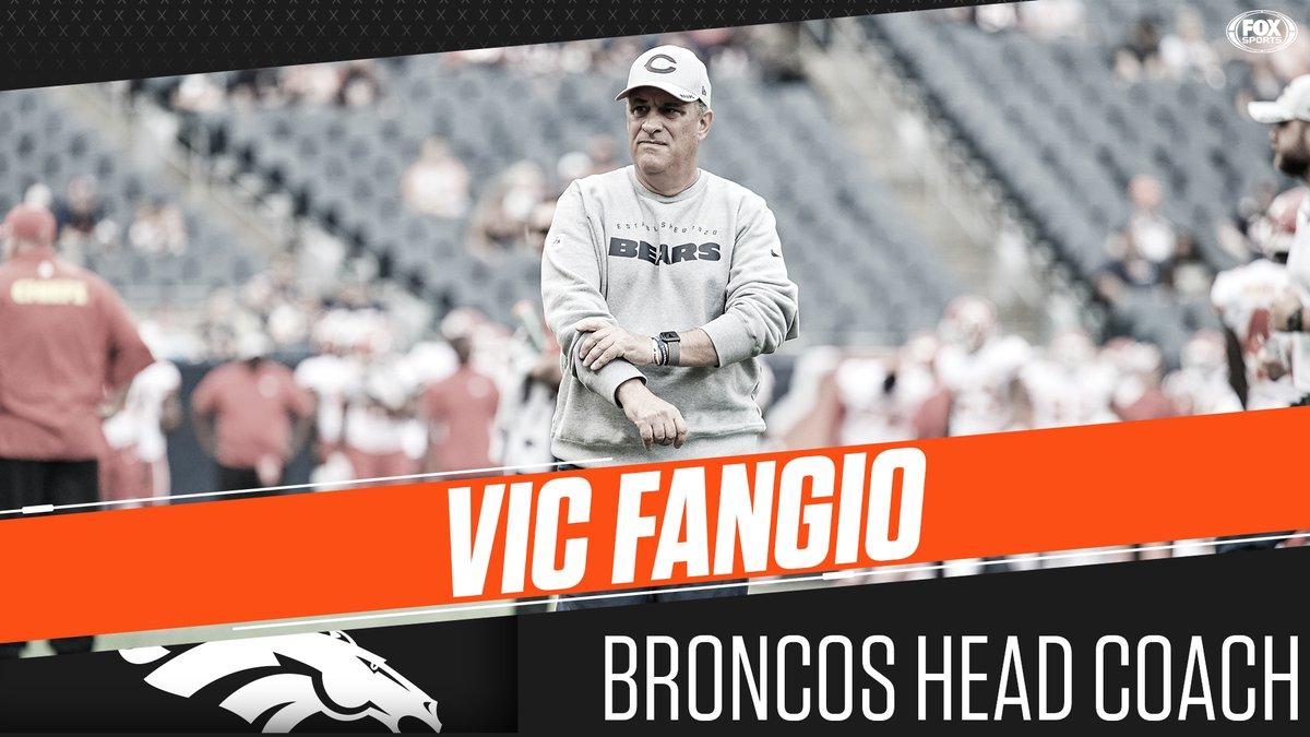 Vic Fangio è il nuovo Head Coach dei Denver Broncos