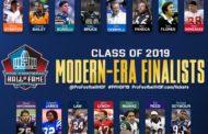 I finalisti per la Hall of Fame 2019