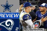 [NFL] Divisional: Preview Dallas Cowboys vs Los Angeles Rams