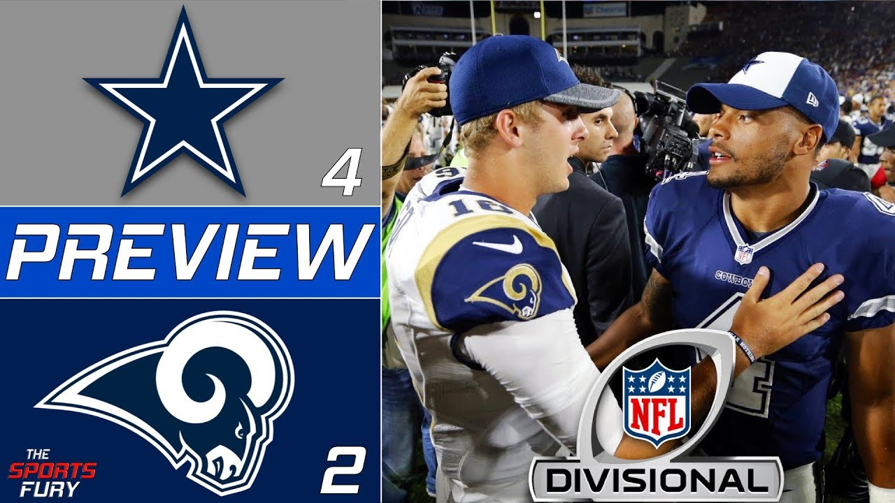 [NFL] Divisional: Preview Dallas Cowboys vs Los Angeles Rams