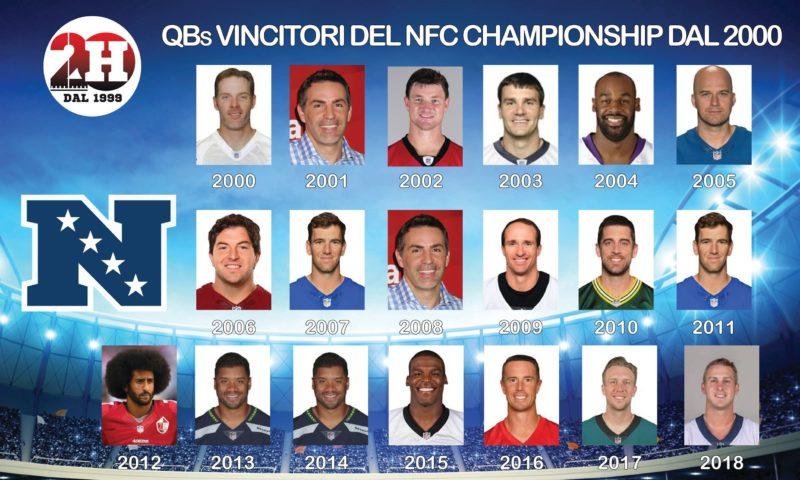 nfc championship qb since 2000